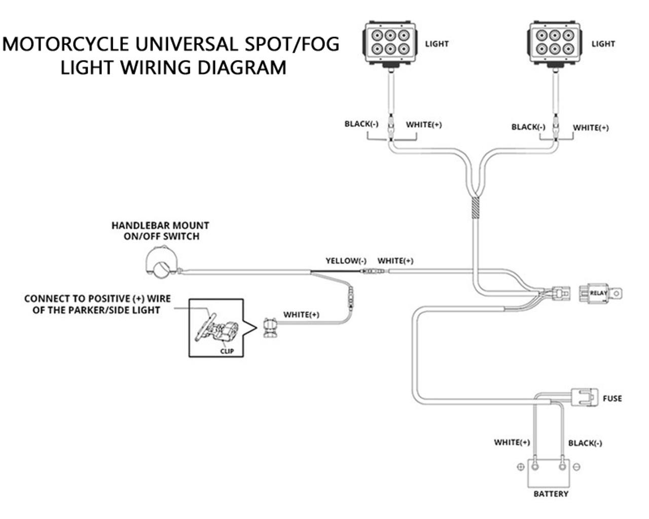 Motorcycle Lights Wiring Diagram