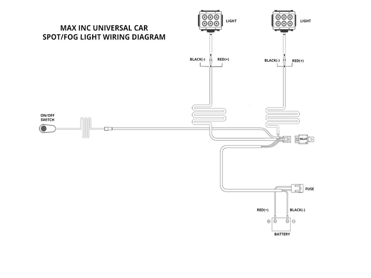 Car Fog Lights Wiring Wiring Harness Wiring Diagram Wiring