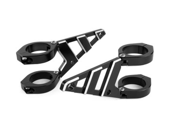 CNC Aluminium Motorbike Motorcycle Headlight Brackets HIGH QUALITY (size options available)