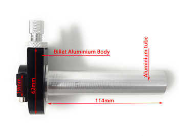Billet Aluminium Quick Action Throttle for 22mm Handlebars