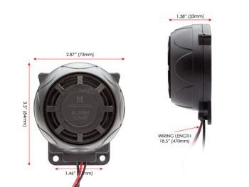 12V Universal DIY Alarm for Motorbikes, Scooters & Quad Bikes