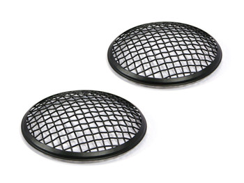 "5.75"" INCH Black Mesh Grill Headlight Covers for Caterham Project Kit Car - PAIR"