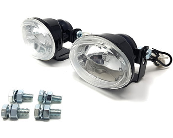 Motorbike Spotlights Foglights H3 55W for Touring Bikes Adventure Bikes & Trikes