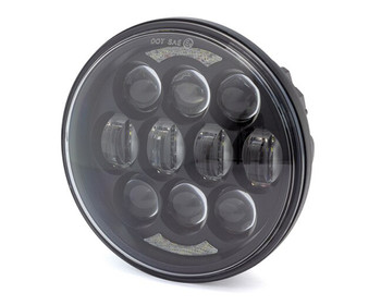 "Motorbike Headlight Insert - Projector LED - 5.75"" / 80W for Harley Davidson Sportster & Dyna Models"