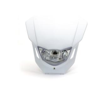 Motorbike Headlight Mask - Supermoto & Streetfighter - White - 12V 35W