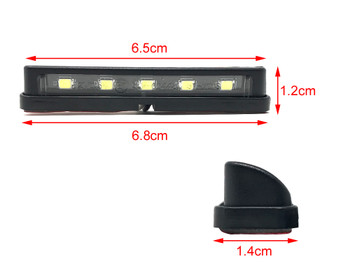 LED Licence Plate Light - High Quality - 5 x LEDs