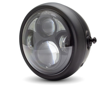 "LED Headlight 6.5"" Custom Retro Cafe Racer or Streetfighter Project"