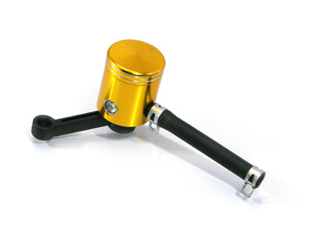Front Brake Fluid Reservoir Kit in Anodised Gold Finish