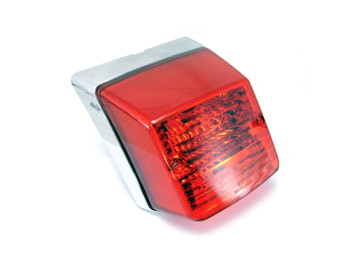 High Quality Vespa PX 125 / 150 / 200 Replacement Chrome Tail Light
