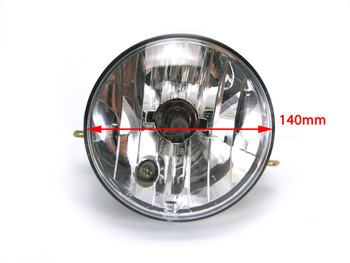 High Quality Vespa PX 125 / 150 / 200 Headlight Including Halogen Bulb - Emarked