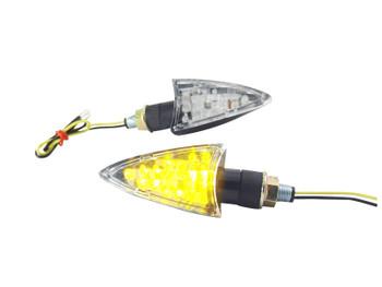 Pointy Black LED Indicators