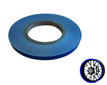Heavy Duty BLUE 600cm Strip Decal Sticker Car Motorbike Quad Trike Wheels Bodywork Fuel Tank