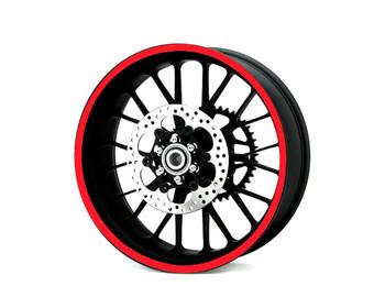 Heavy Duty Reflective RED 600cm Strip Decal Sticker Car Motorbike Quad Trike Wheels Bodywork Fuel Tank