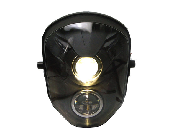 High Quality Motorbike Streetfighter Headlight - Dual Stacked Projector Insert