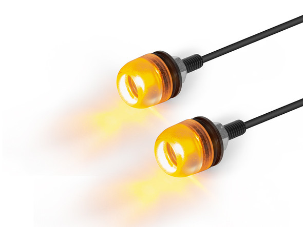 Small Micro LED Indicators - Amber Lens