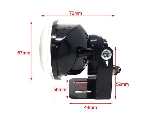 Motorbike H3 35W Spotlights Foglights for Adventure Bikes Touring Bikes & Trikes