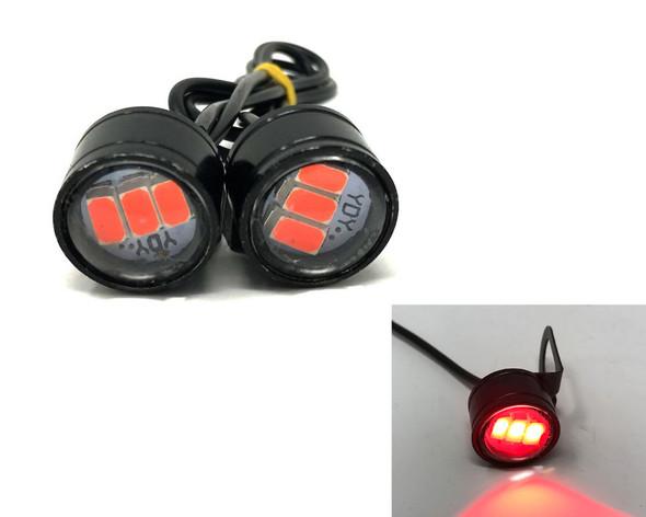 Motorbike LED Projector Stoplights for Project Bike Trike Quad ATV Scooter