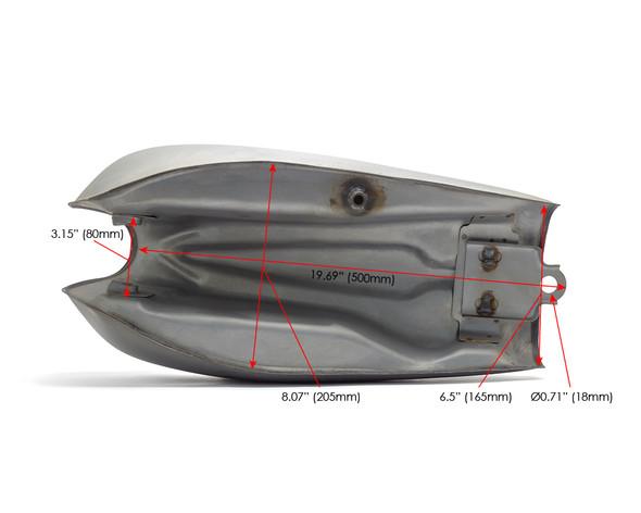 Motorbike Fuel Tank for Retro Project Scrambler Brat Bike Cafe Racer Board Racer