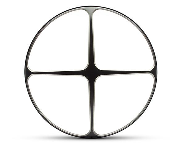 "Cross Design 7"" INCH Motorbike Headlight Cover Guard for Cafe Racer Scrambler Project Retro"