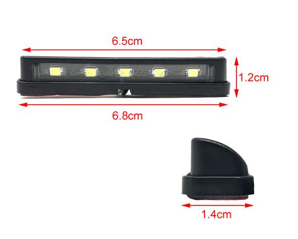 LED Licence Plate Light - High Quality - 5 x LEDs