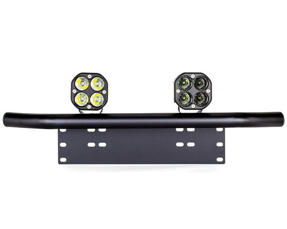 Car 4X4 Spotlight Foglight LED Kit 40W + Licence Number Plate Bracket Light Bar