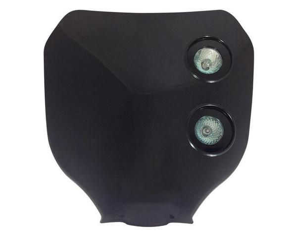 Universal 12V/20W Double Headlight For All Motocross & Enduro Motorbikes