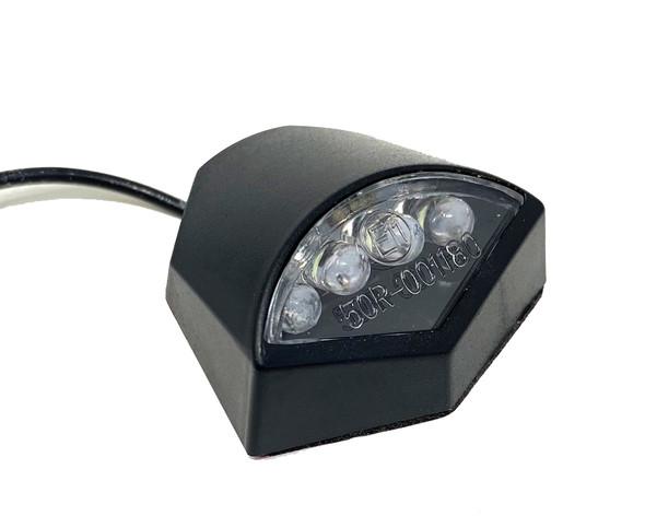 Custom Stick On LED Number Licence Plate Light for Motorcycle  / Motorbike / Quad Bike