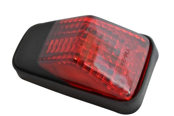 Universal Rear Mudguard Fender Enduro Off Road Motorcycle Motorbike Tail Light