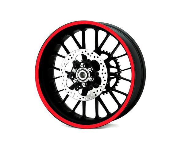 Heavy Duty RED 600cm Strip Decal Sticker Car Motorbike Quad Trike Wheels Bodywork Fuel Tank