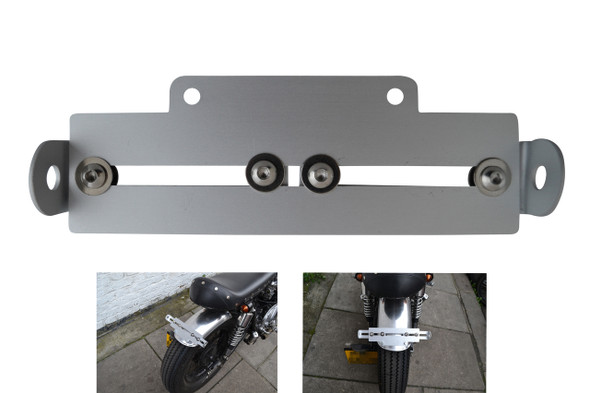 Top Quality Motorbike Tail Tidy Universal Adjustable Number License Plate Holder