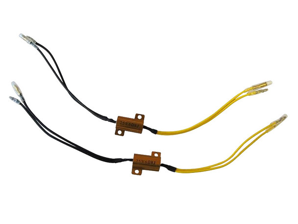 Motorbike Load Resistors Equalizers for LED Indicators