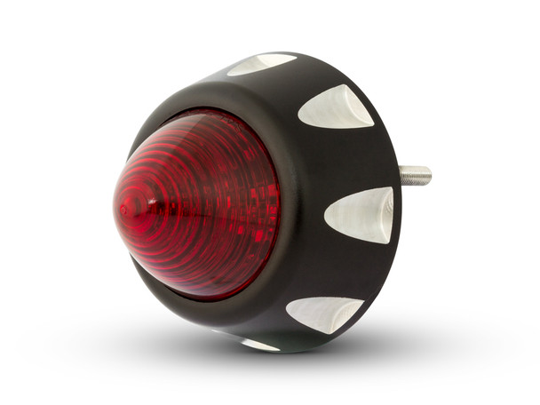 LED Stop & Tail Light for Custom Project Cafe Racer Motorbikes Motorcycles - Beehive CNC Machined Billet Aluminium