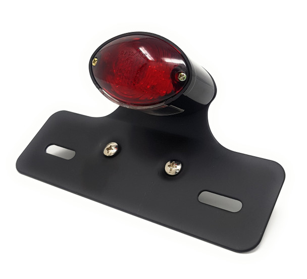 LED Rear Stop Tail Light for Retro Vintage Custom Project Motorcycle Motorbike