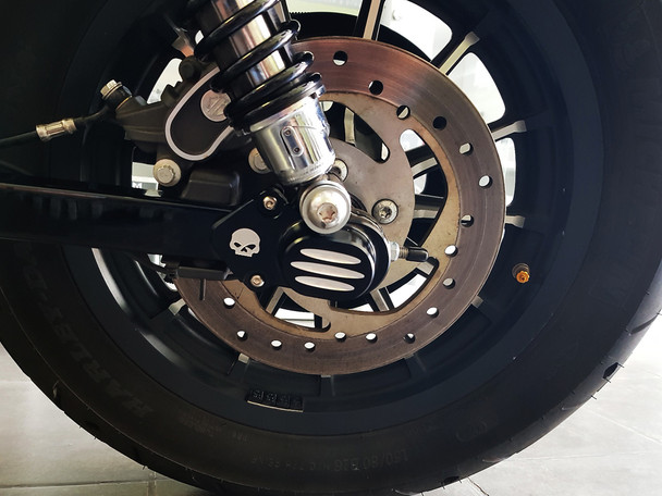 Aluminium Rear Axle Covers for all Harley Davidson Sportster 2005 - 2018 Models