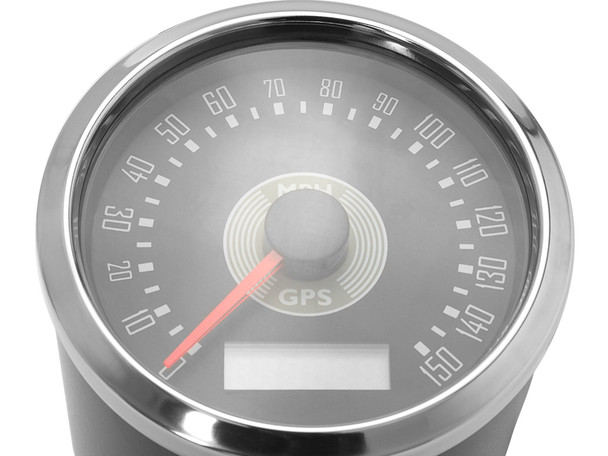 MPH Motorbike GPS Speedometer Smiths Style Cafe Racer Retro Custom Project