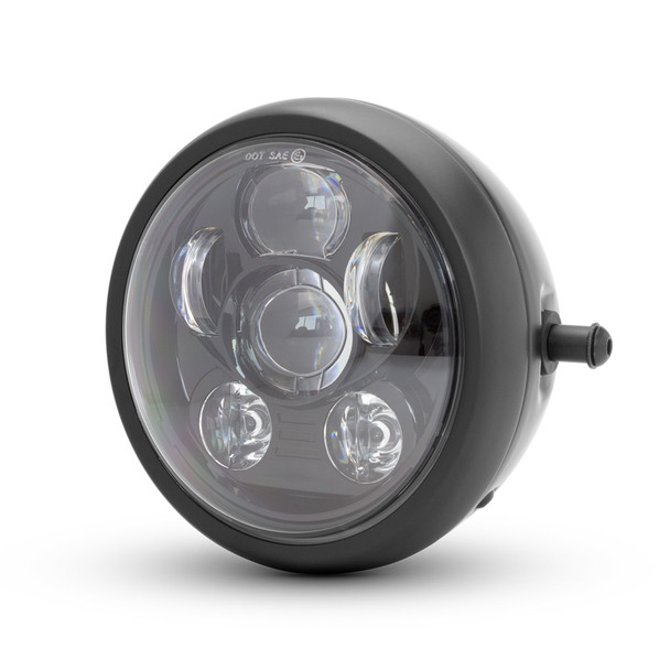 "6"" LED Projector Motorbike Headlight for Cafe Racer & Streetfighter 6 LIGHT"