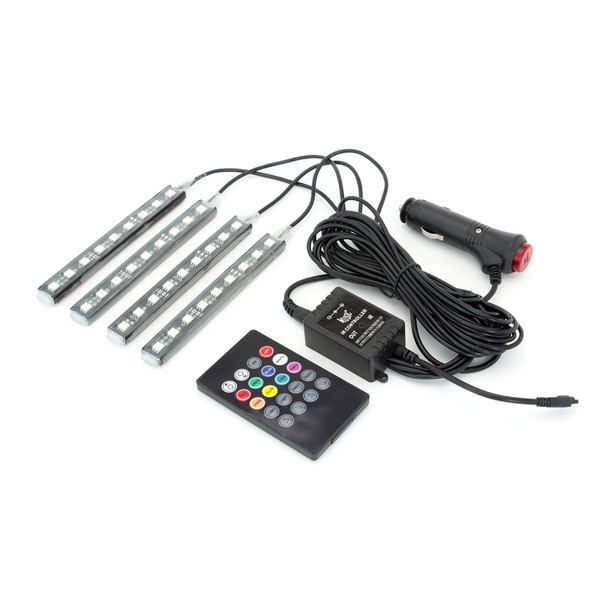 12V LED Lighting Kit for Motorbikes, Scooters, Cars, Vans, Pick Ups and Boats