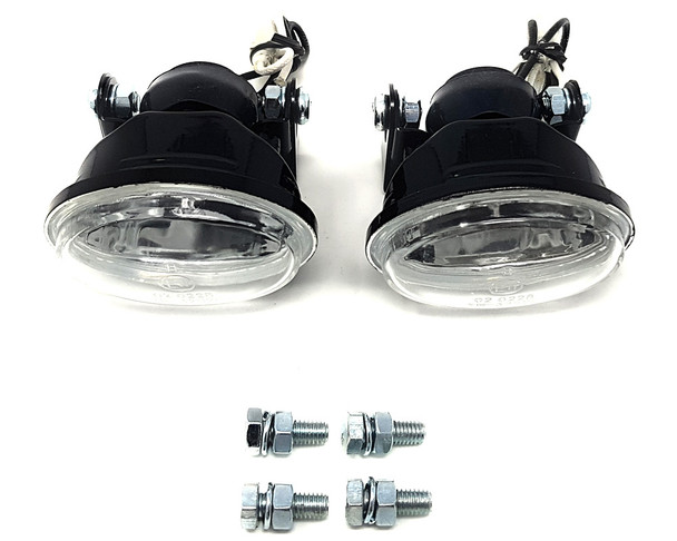 Motorbike Spotlights Foglights H3 55W for Touring Bikes Adventure Bikes & Trikes