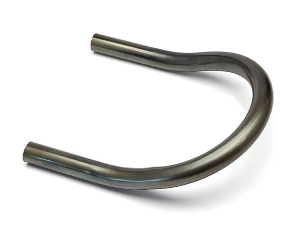 20mm x 175mm Motorbike Rear Seat Loop Frame - Upswept Hoop for Custom Project Scrambler