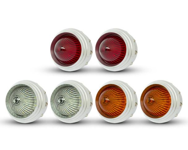 Pick Up LED Stop & Taillights, Indicators & Reverse Light Kit - Polished Ally - 4x4 Truck