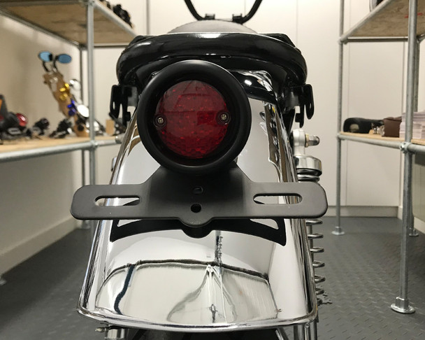LED Rear Stop Tail Light with Red Lens For Retro Custom Project