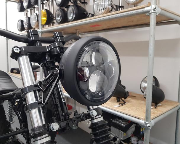 "LED Headlight 6.5"" Custom Retro Cafe Racer or Streetfighter Project"
