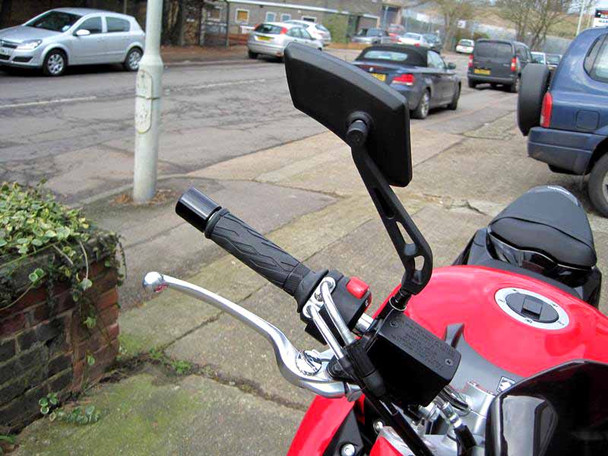 Pair of Good Quality Black Motorbike Motorcycle Trike Wing Mirrors