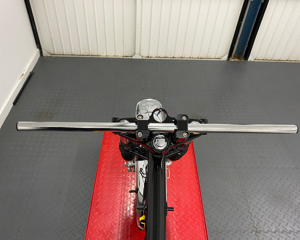 "Motorcycle 25mm 1"" Drag Bars Handlebars CHROME"