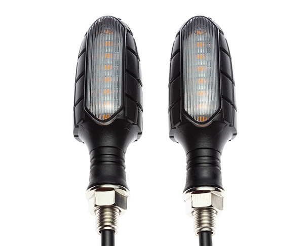 Motorbike Indicators LED Stop Tail Lights Integrated Blinkers Turn Signals