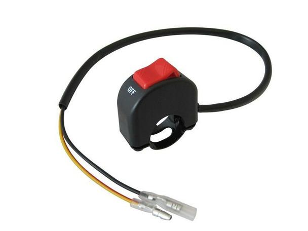 "Universal Headlight / Spotlight Switch to fit 22mm 7/8"" Handlebars for Motorbike Trike Quad"