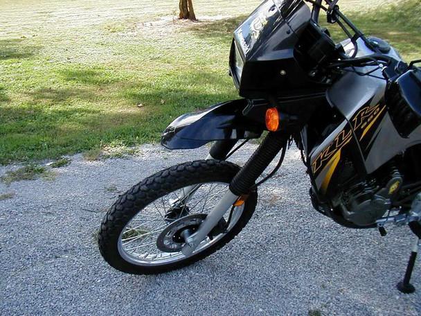 BLACK Universal Motorcycle Motorbike Mudguard / Fender for Supermoto Enduro Dirt Bike