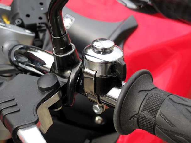 """Miller Replica Chrome Horn / Headlight Dip Switch to fit 22mm 7/8"""" Handlebars for Motorcycle Motorbike Trike"""