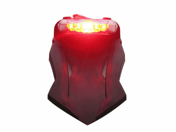 Motorbike Motorcycle Universal E-marked LED Stop / Tail Light with Integrated Indicators