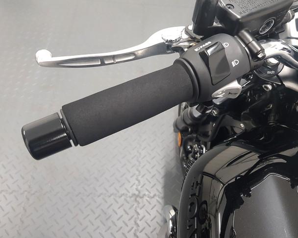 Motorbike Slip-on Foam Anti-vibration Grip Covers - Fits ALL Standard Size Grips